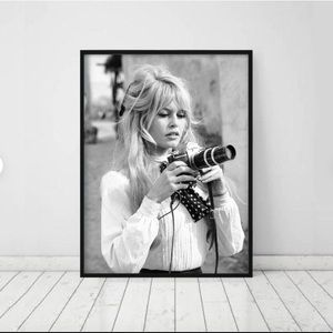 Other - Brigitte Bardot Fashion Print 24X36IN Matt Finish